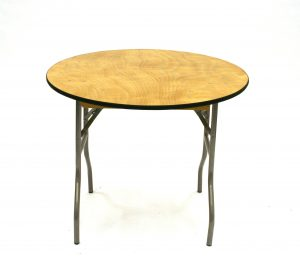Round 3 Foot Table Hire - Weddings, Events, Functions - BE Event Hire