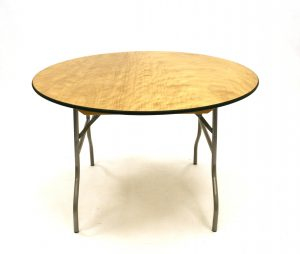 6 Foot Round Table Hire - Weddings, Events, Functions - BE Event Hire