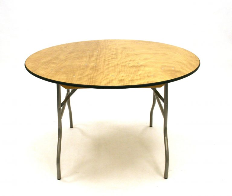 Round Banqueting Trestle Table Hire - BE Event Furniture Hire