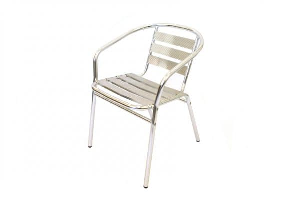 Aluminium Bistro Chair Hire - BE Event Furniture Hire
