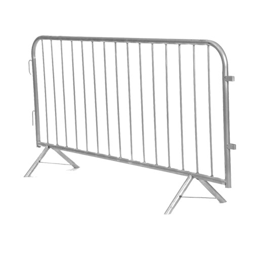 Crowd Control Barrier Fencing Hire - 2.5m Fencing Barrier - BE Event Hire