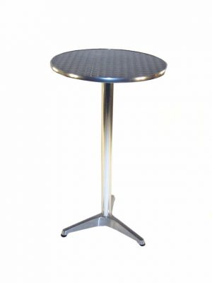 Aluminium High Table Hire - Bars, Events, Trade Stands - BE Event Furniture Hire