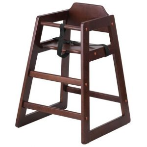 Childrens Wooden High Chair