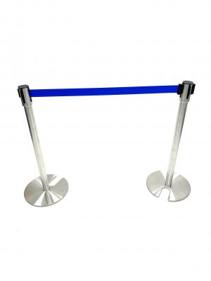 Blue Tensa Barriers