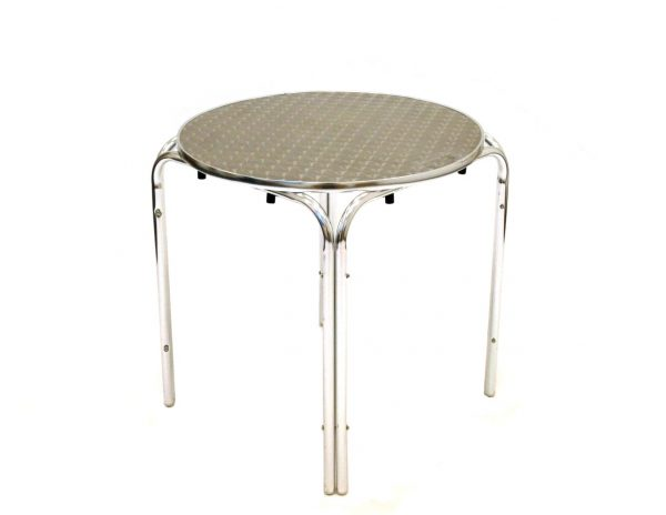 Aluminium Tables For Hire - Bistro Style Tables - BE Event Hire