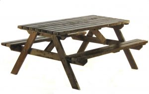 Wooden Picnic Bench Hire - Weddings, Events, Exhibitions - BE Event Hire