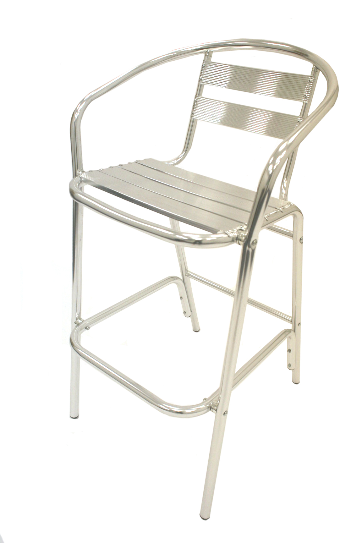 Aluminium High Stools - Aluminium Bar Stool for Hire - BE Event Hire