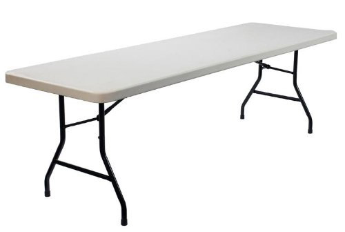 "Blow Mold Plastic Tables Hire - 6' x 2' 6"" Trestle Tables - BE Event Hire"