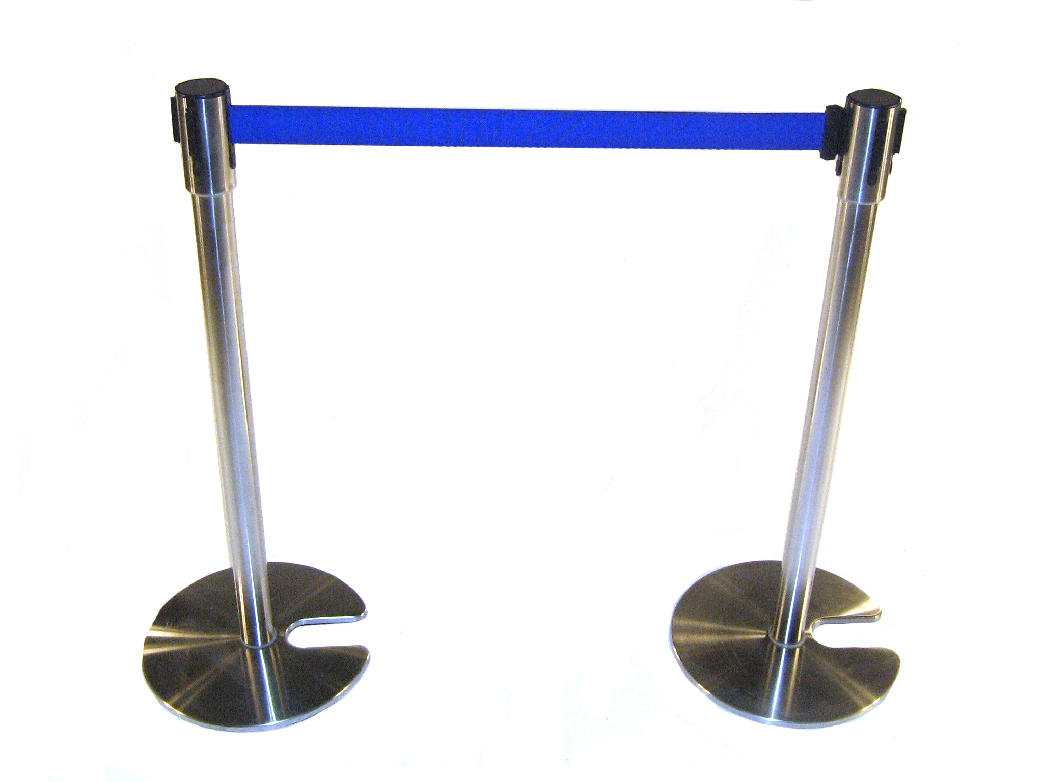 Blue Stretch Barrier for Hire - Event Crowd Control - BE Event Hire