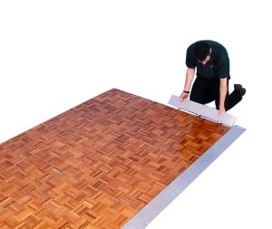 Parquet dance floors - BE Event Hire