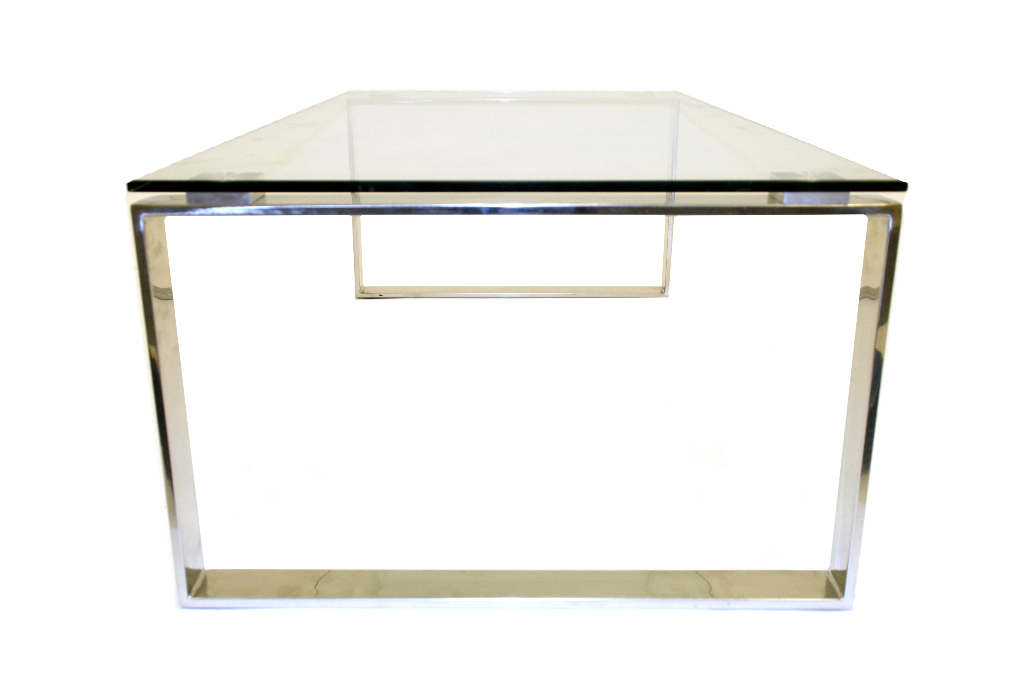 Glass Coffee Tables For Hire Silver Metal Frame Be Event Hire