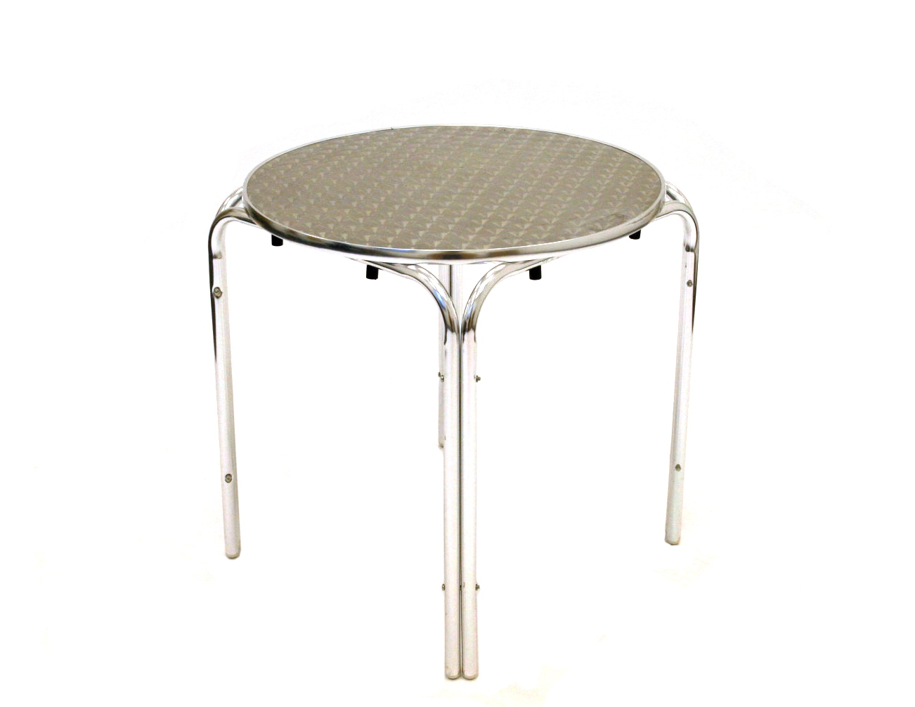 Aluminium bistro style table- BE Event Hire