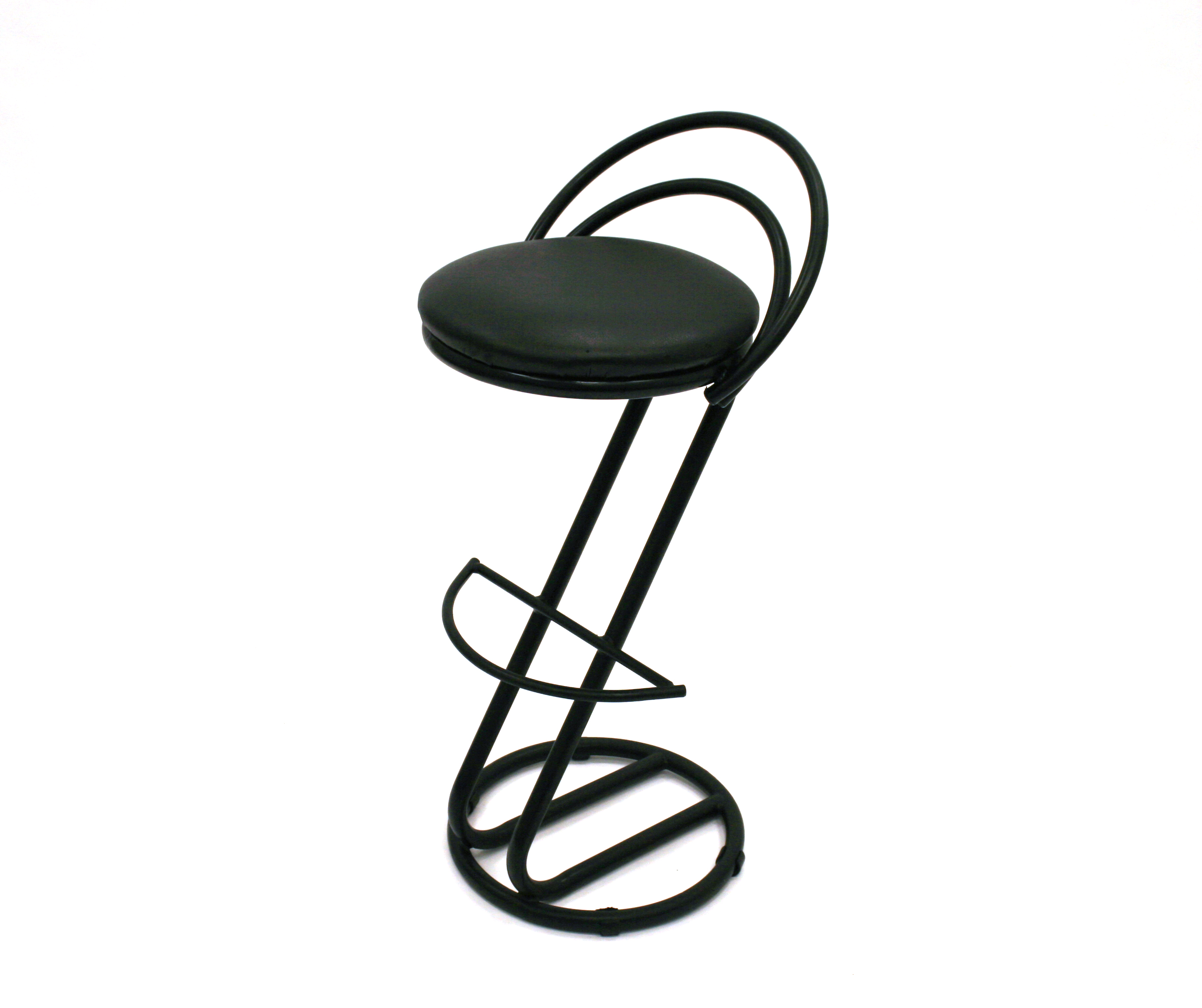 Black Cobra Bar Stool for Hire - Events, Exhibitions - BE Event Hire