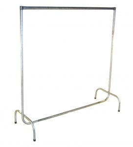 Coat Rail - including 40 metal coat hangers - BE Event Hire