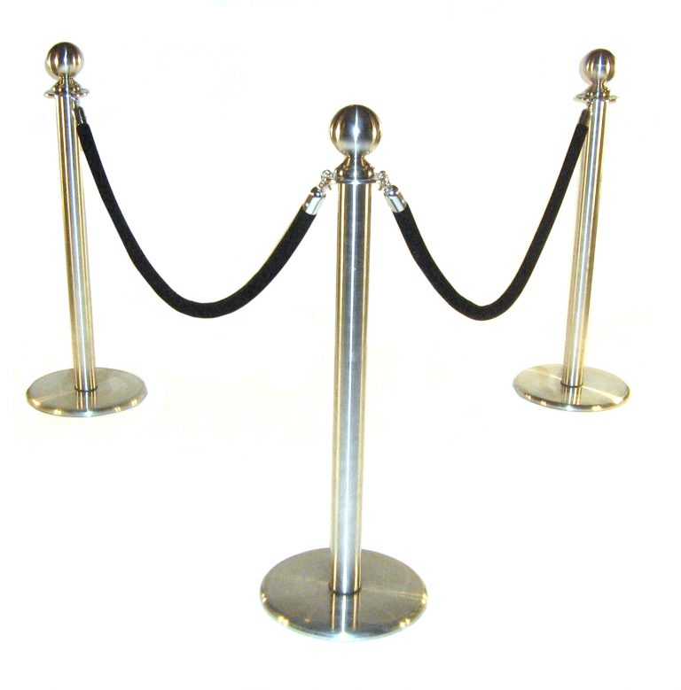 Barrier Post for Hire - Crowd Control at Events, Exhibitions - BE Event Hire