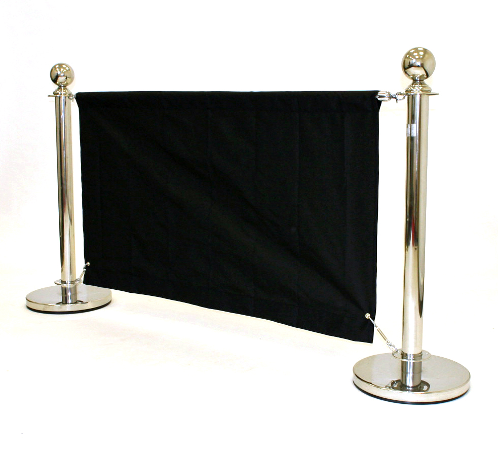 Cafe Style Barrier Sets for Hire - Crowd Control Barrier - BE Event Hire