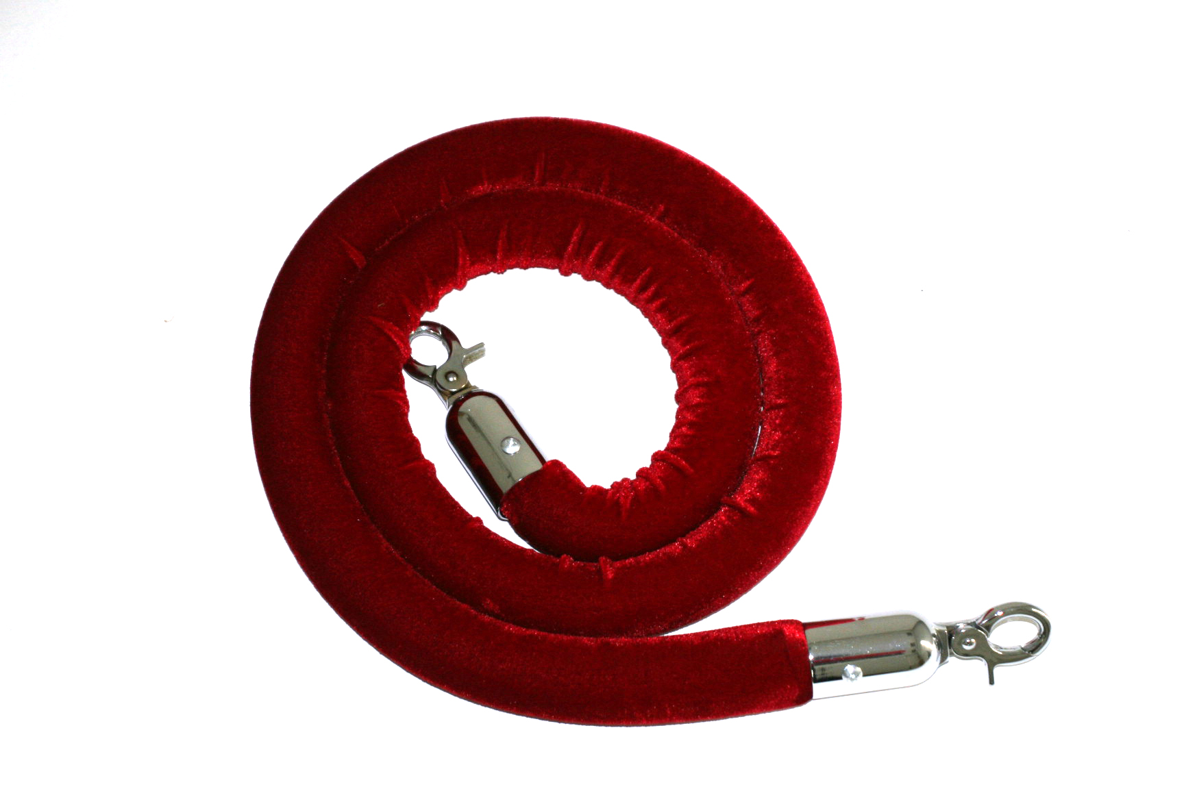 Red Velvet Barrier Rope for Hire - Barrier Posts & Ropes - BE Event Hire