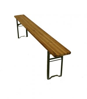 2 metre Wooden Bench - BE Event Hire