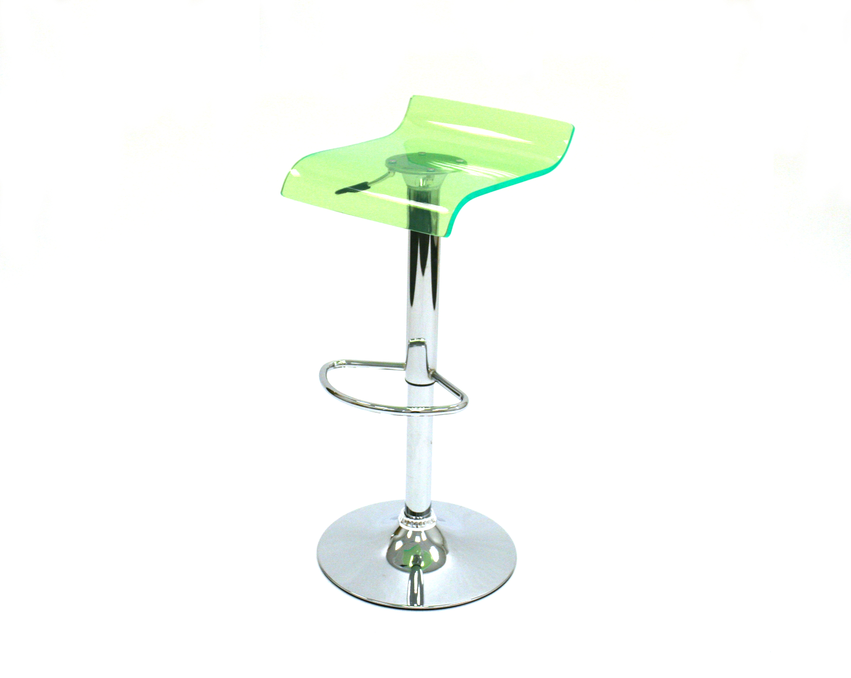 Green Acrylic Bar Stools for Hire - Event, Exhibition Stools - BE Event Hire