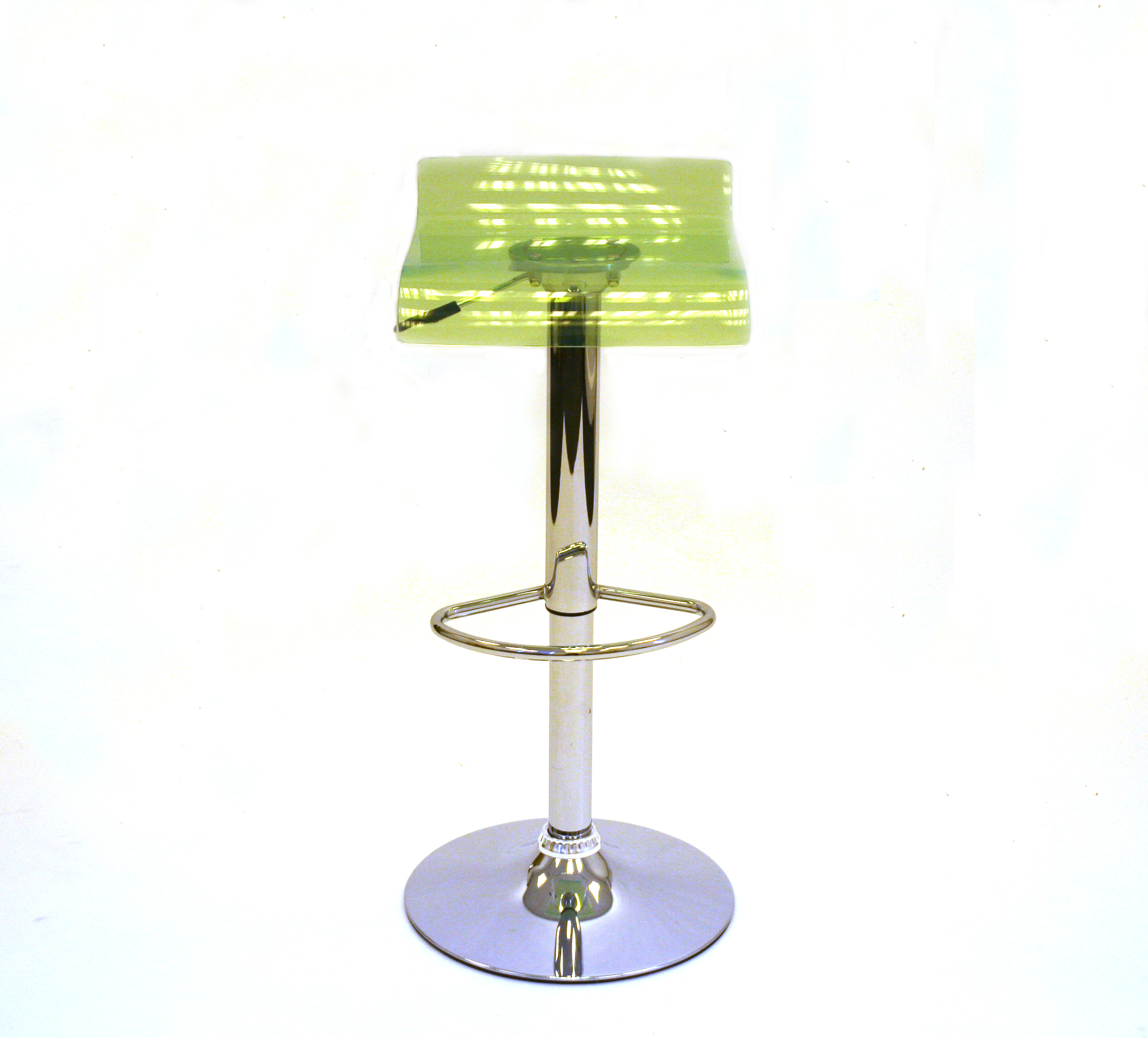 Green Acrylic Bar Stools For Hire Event Exhibition