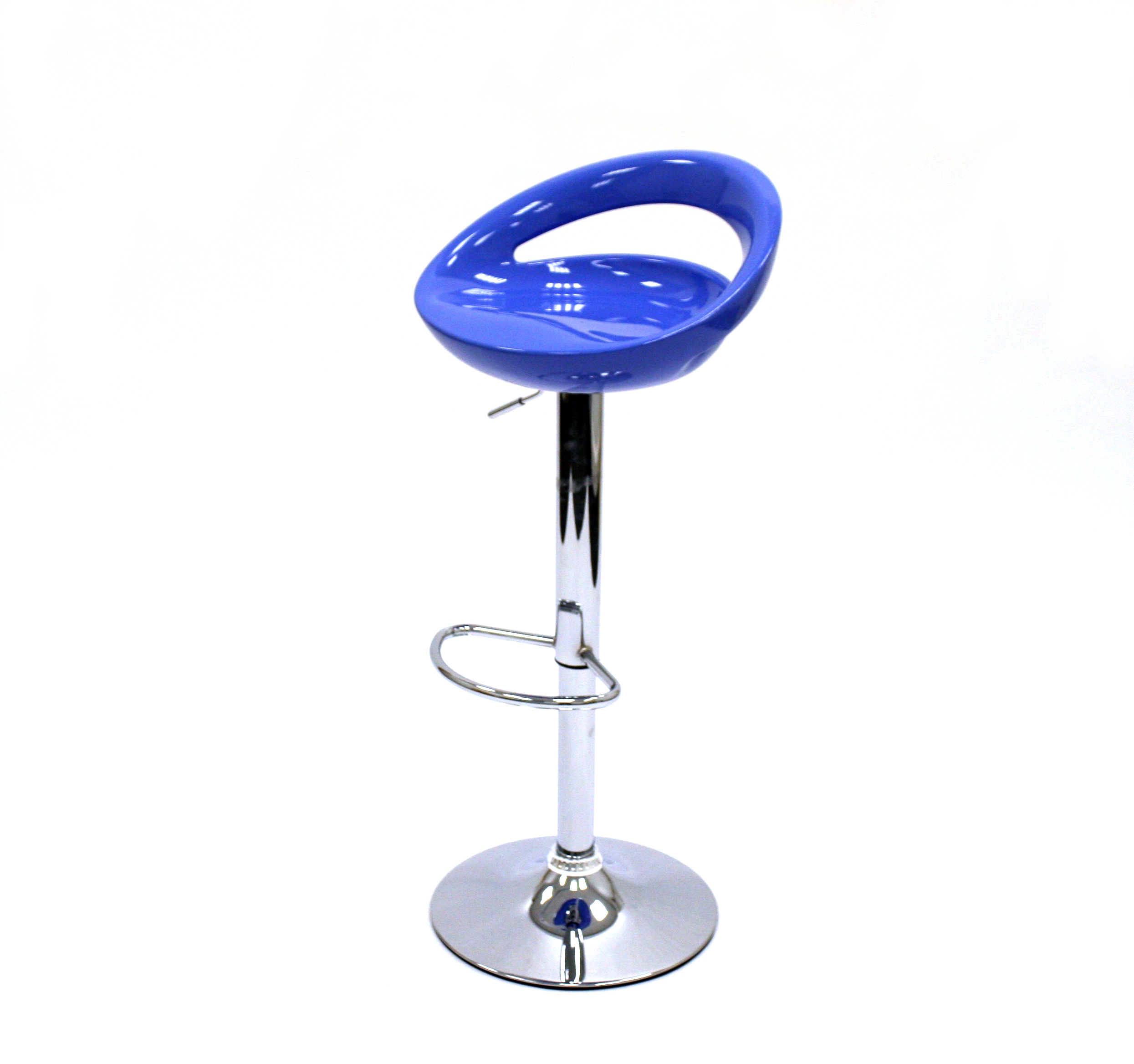 Blue Plastic Bar Stool Hire - Events, Exhibition Stools - BE Event Hire
