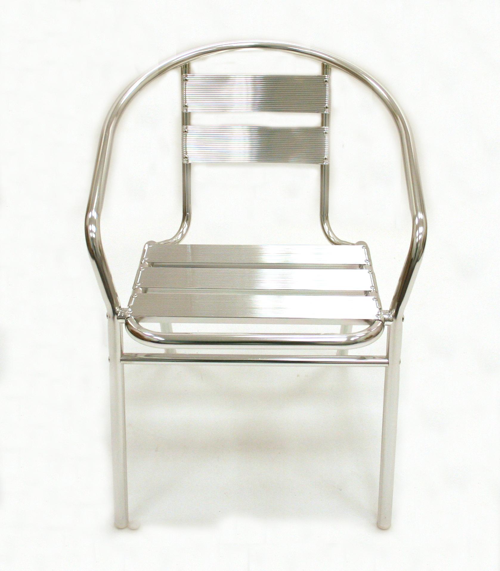 Aluminium Bistro Chair - BE Event Hire
