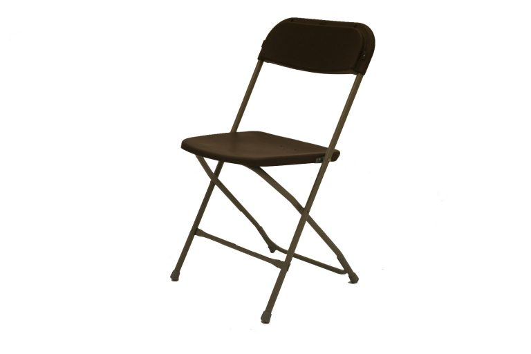 Folding Samsonite Style Chairs - Plastic Chair Hire