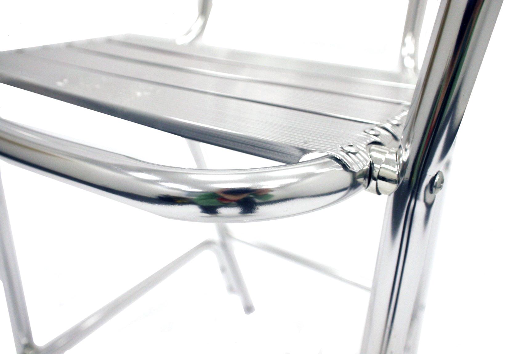 Aluminium High Stool - BE Event Hire
