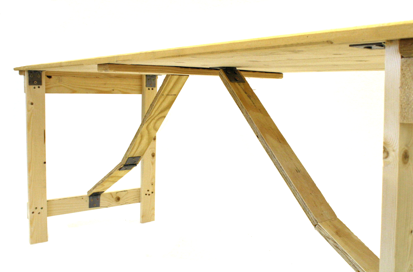 6u0027 X 2u0027 Trestle Table   BE ...