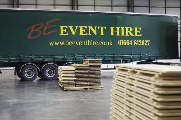 6' x 2' Trestle Table - BE Event Hire