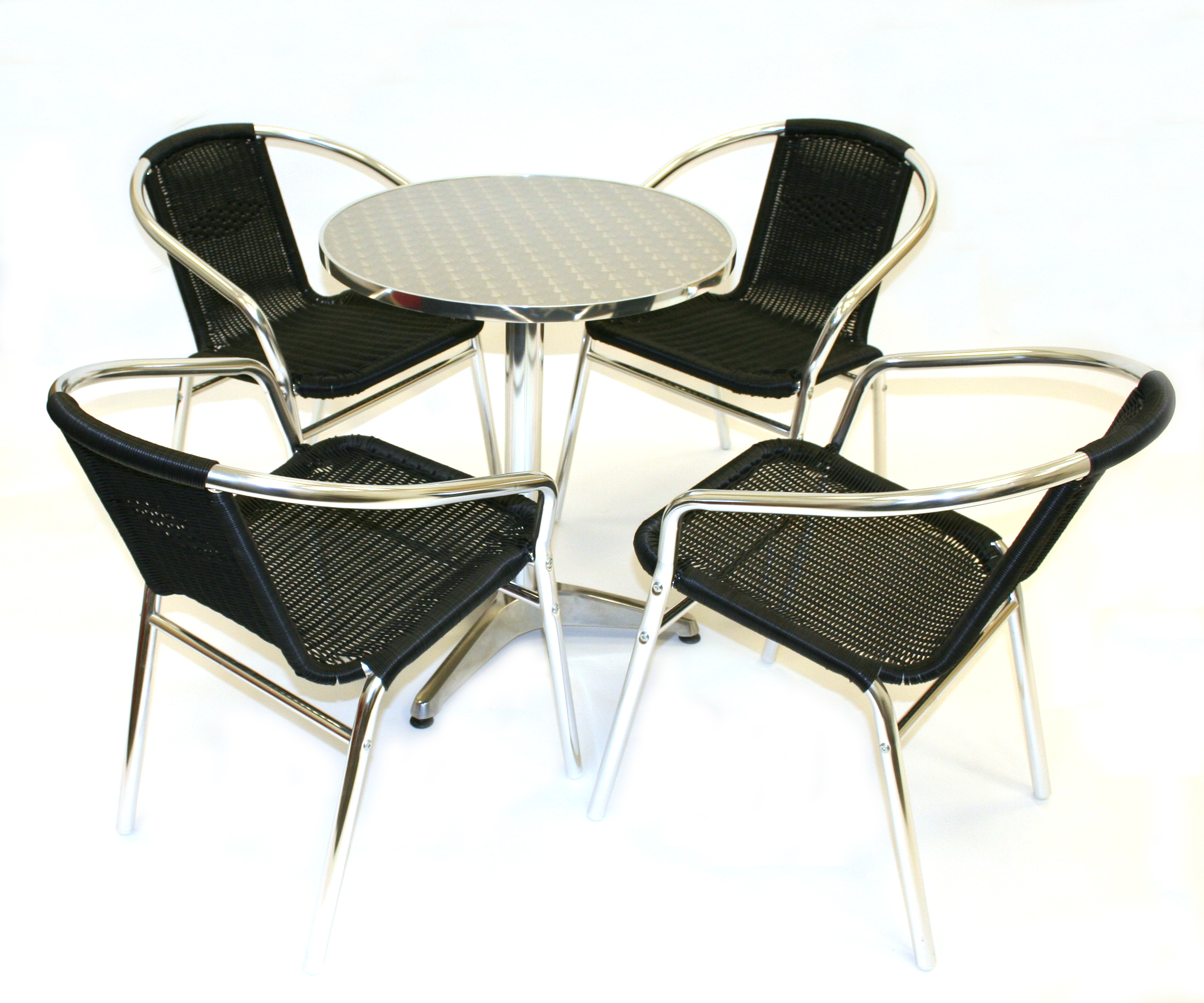 Black Rattan Garden Furniture Patio Sets - BE Event Hire
