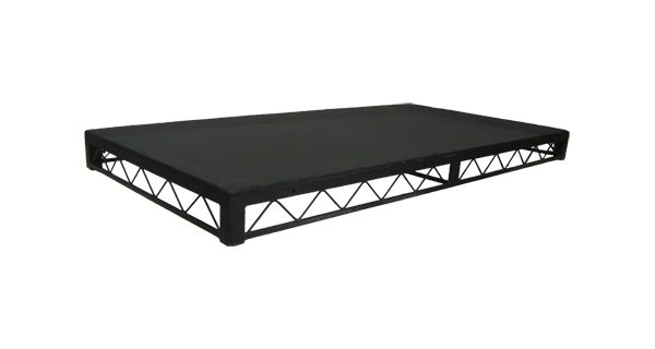 Steeldeck Stage Block for Hire - 8′ x 4′ Steel Stage Block - BE Event Hire