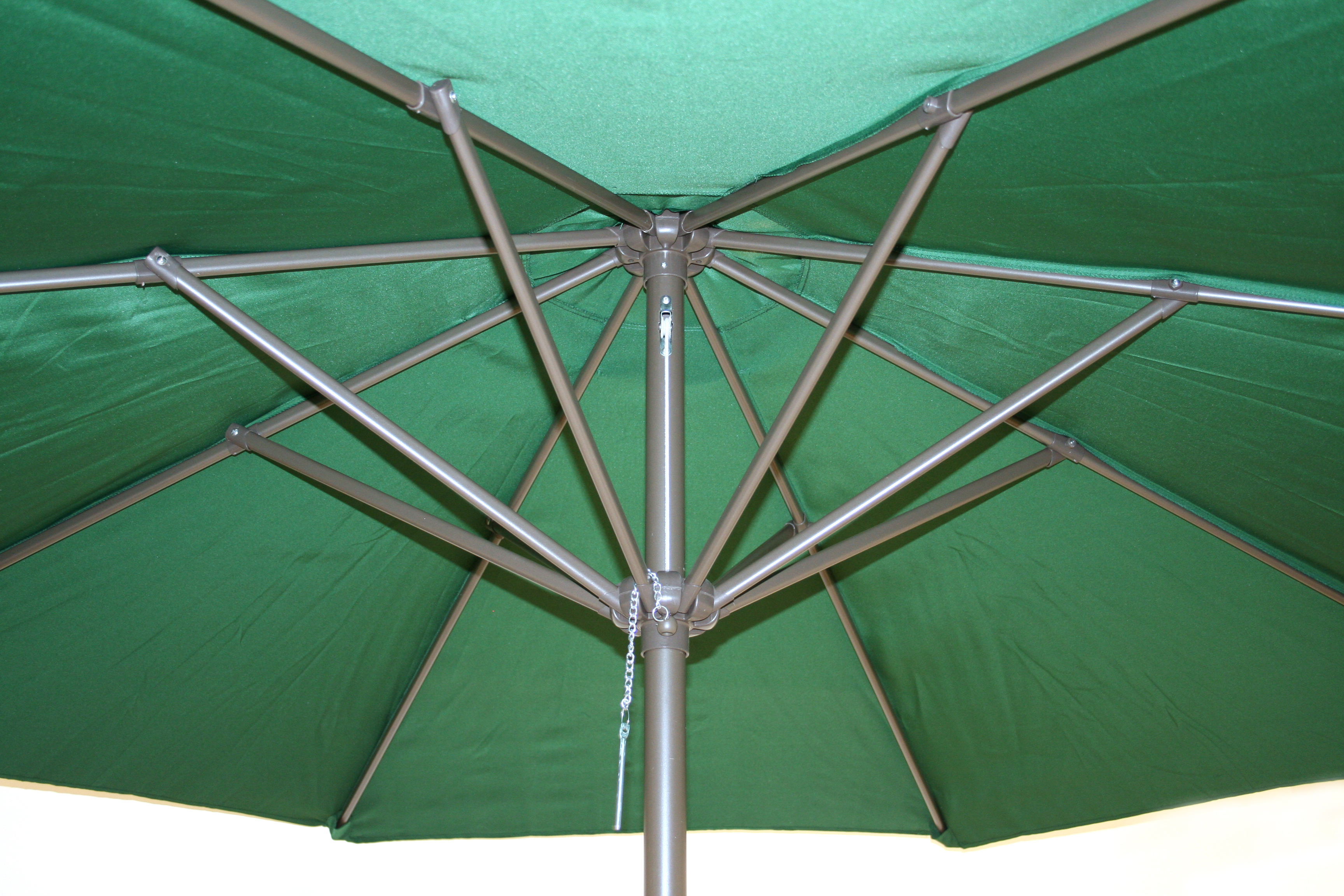 Large Green Umbrella Parasol - BE Event Hire