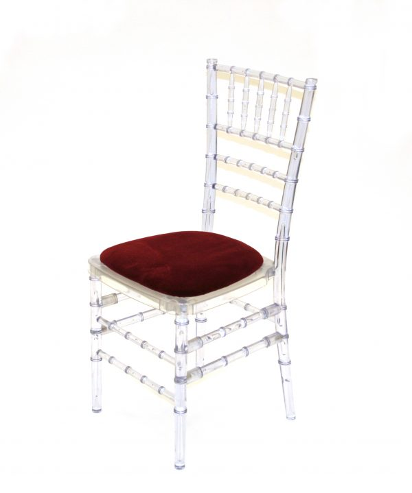 Crystal Resin Chiavari Chair Hire - Ice Chiavari Chairs - BE Event Furniture Hire Hire