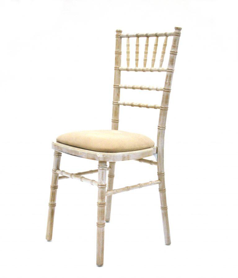 Limewash Chiavari Chair Hire - BE Event Furniture Hire