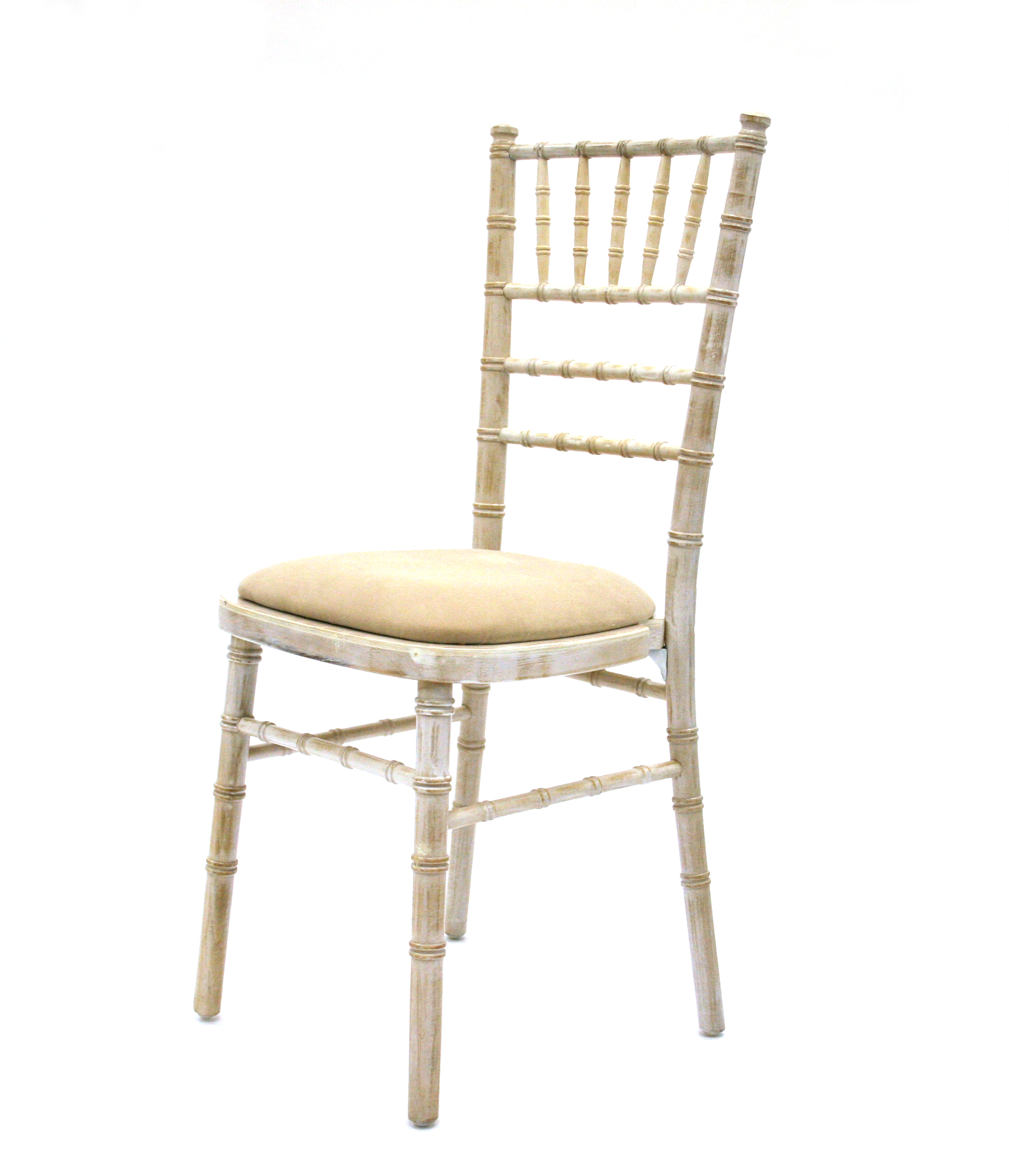 Limewash chiavari chair suitable for weddings and events be event hire