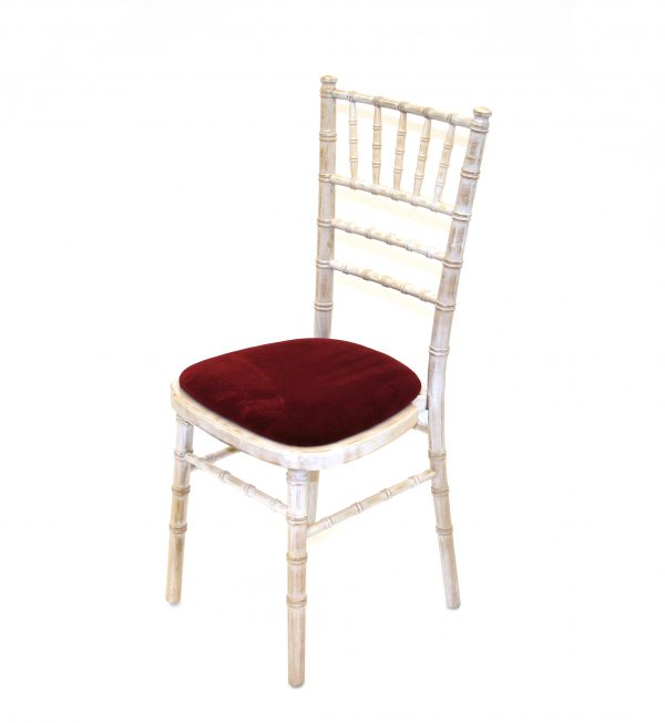 Limewash Chiavari Chair, suitable for Weddings and Events - BE Event Hire