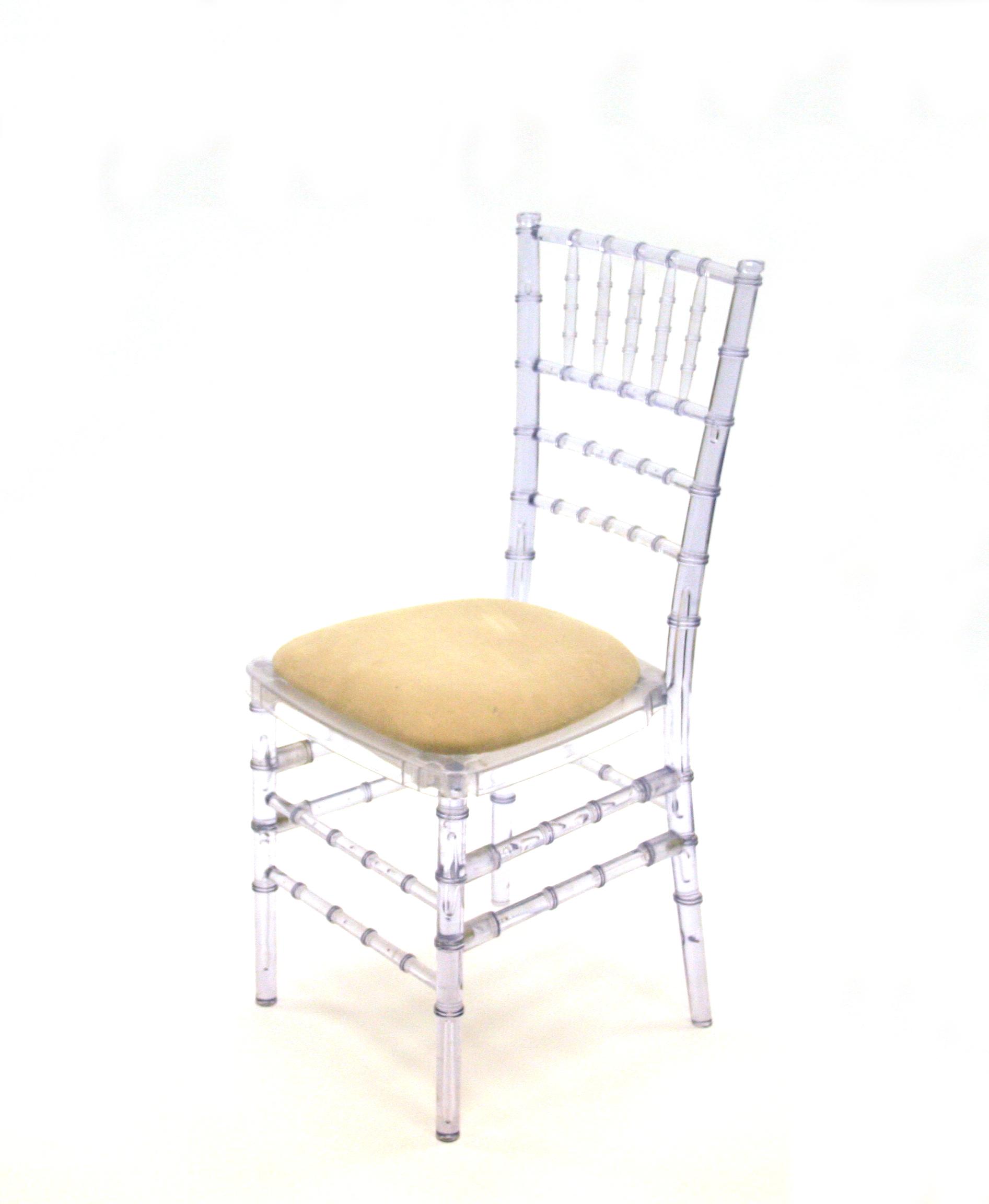 Crystal Resin Ice Krystal Chiavari Chairs - BE Event Hire