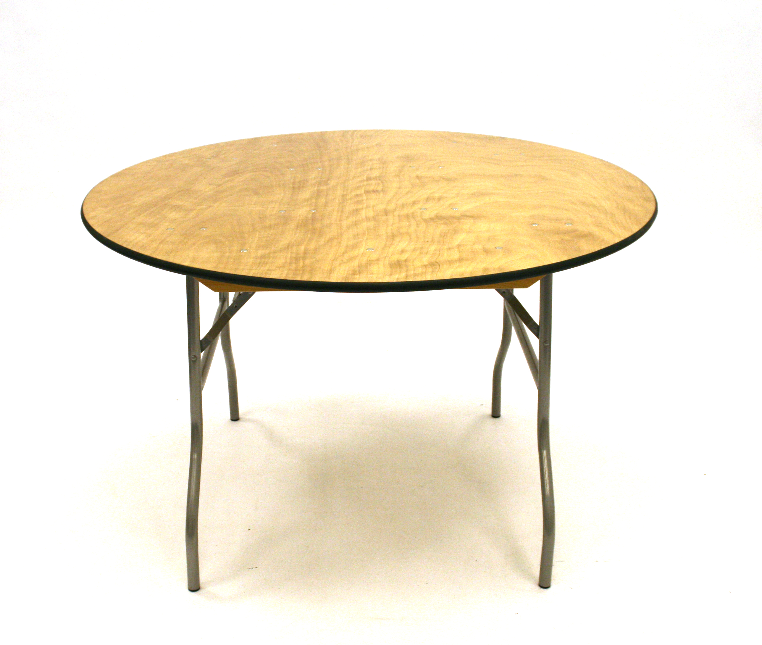 5'6'' Diameter Varnished Banquet Table - BE Event Hire