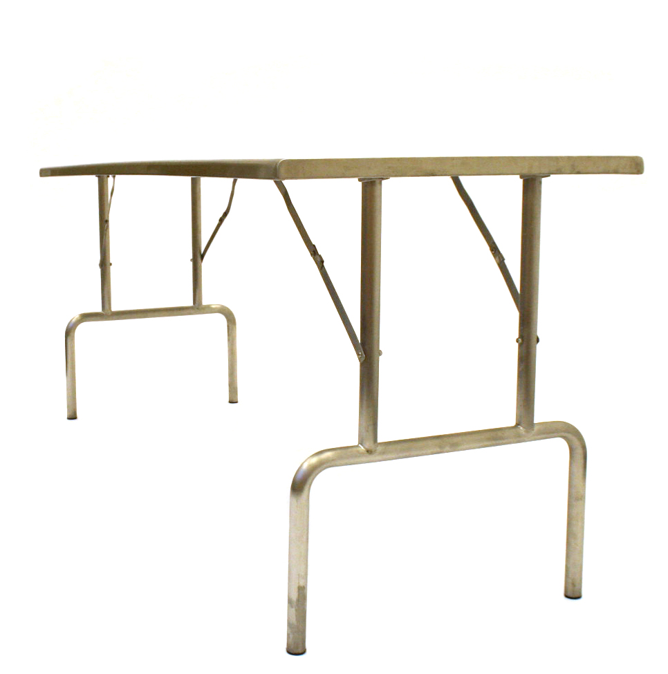 Stainless Steel Table Hire 6 X 2 3 Quot Trestle Tables Be