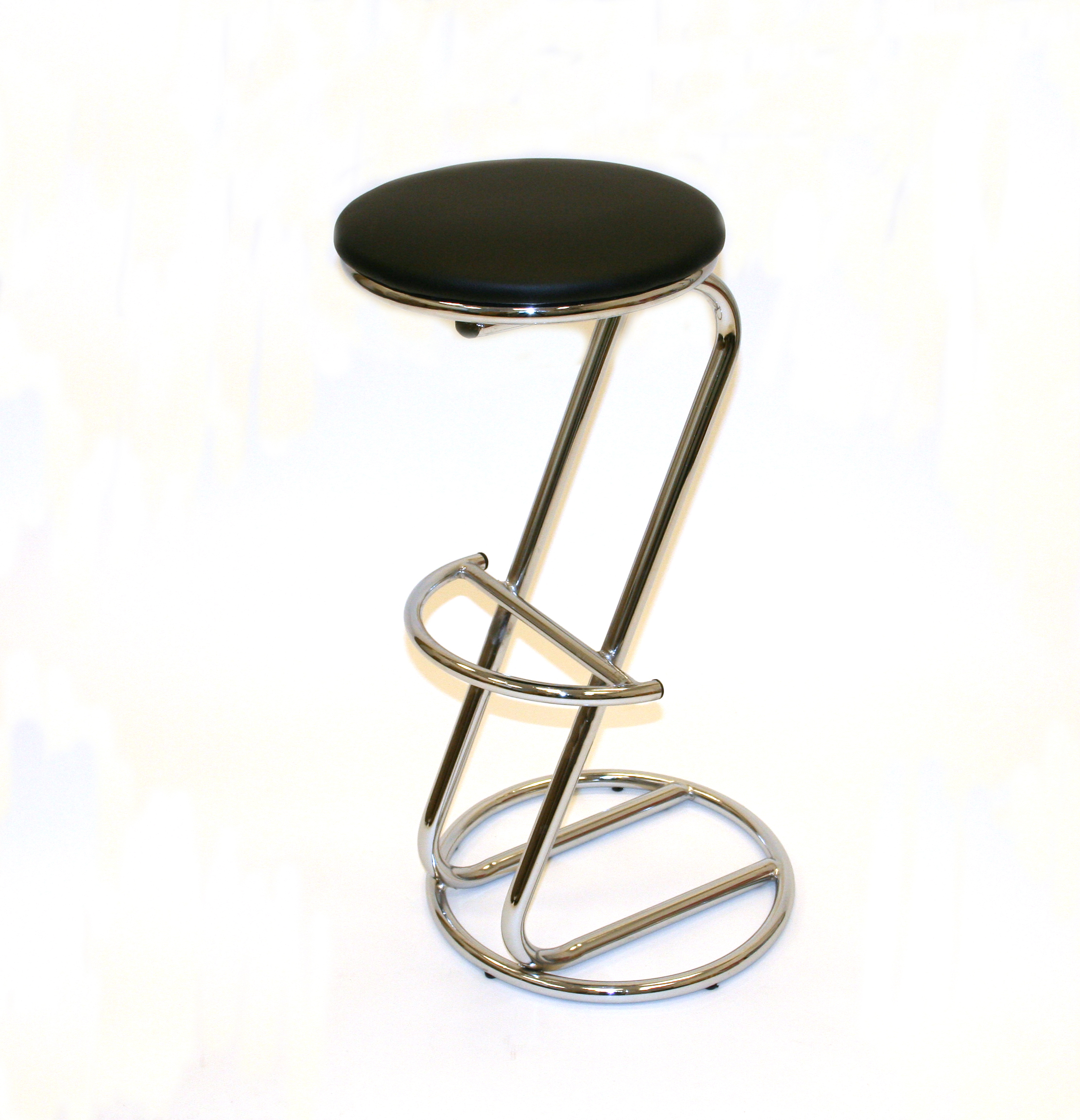 Chrome Cobra Z Stool Hire - Events, Exhibitions - BE Event Hire