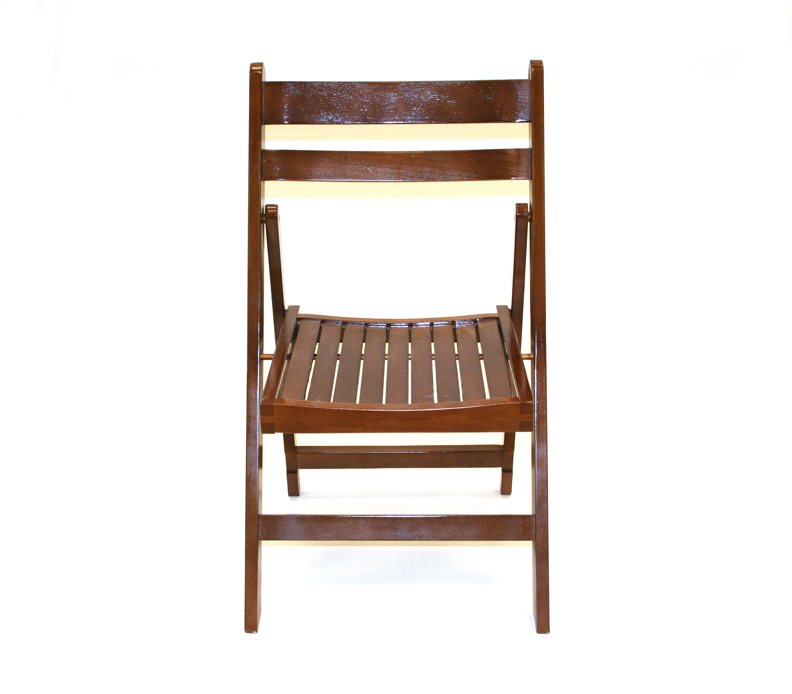 Brown Wooden Folding Chair Hire Events Weddings BE Event Hire