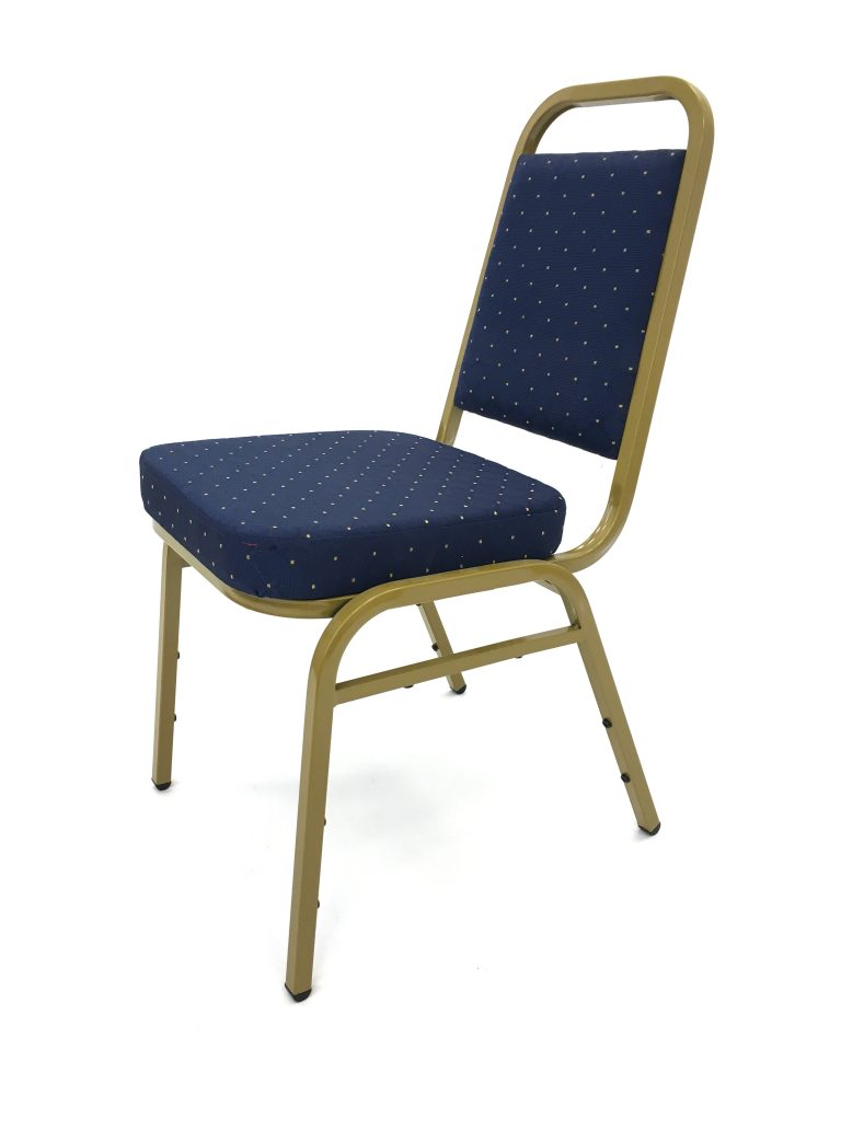 Blue Budget Banqueting Chair Hire - BE Event Furniture Hire