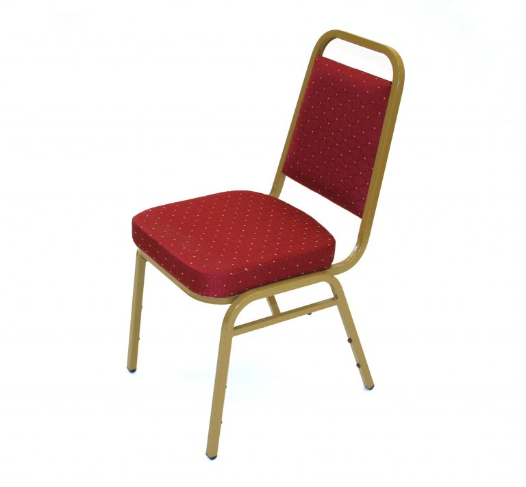 Red Budget Banquet Chair Hire - BE Event Furniture Hire