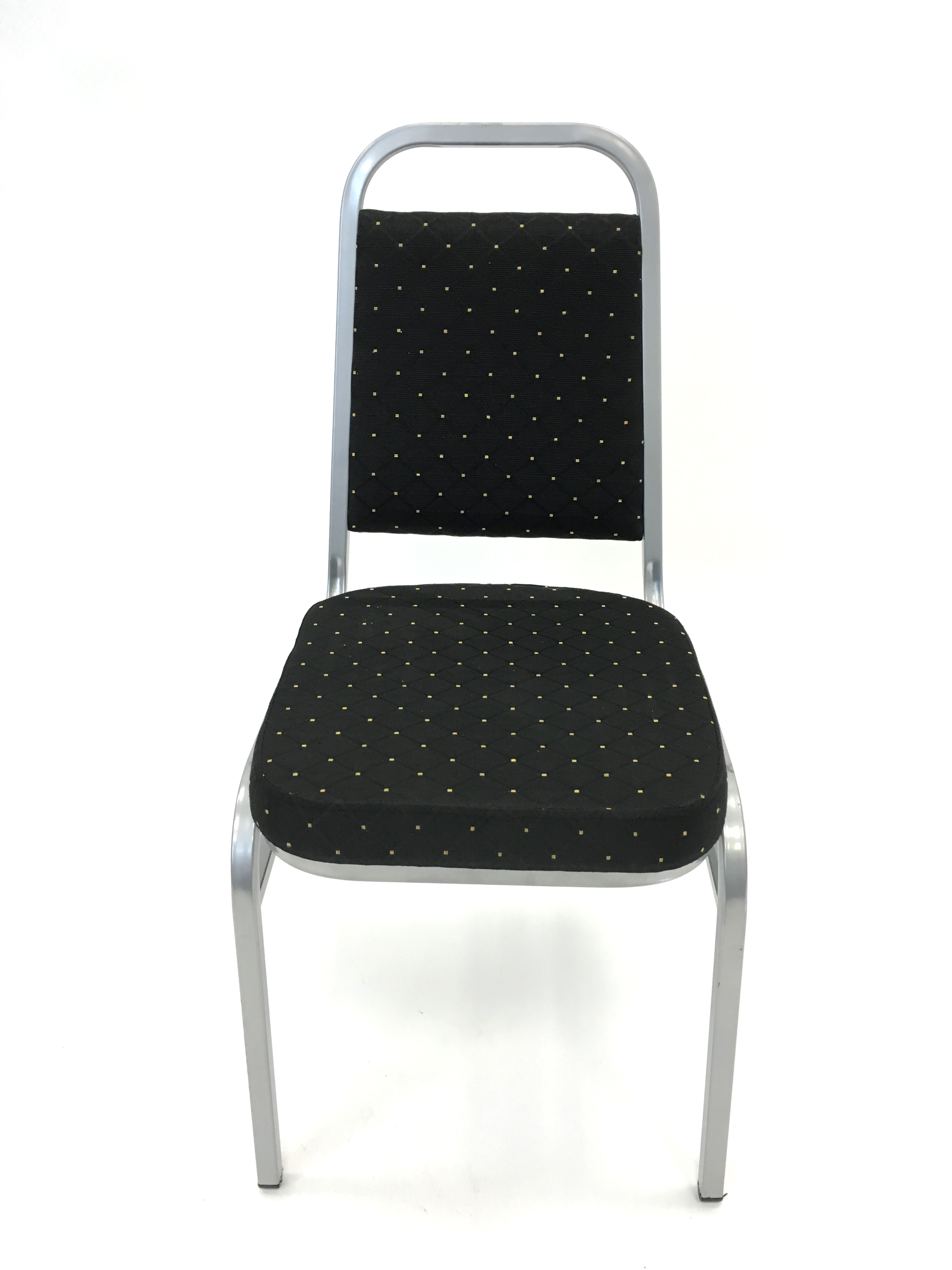 black silver banquet exhibition conference chair - BE Event Hire