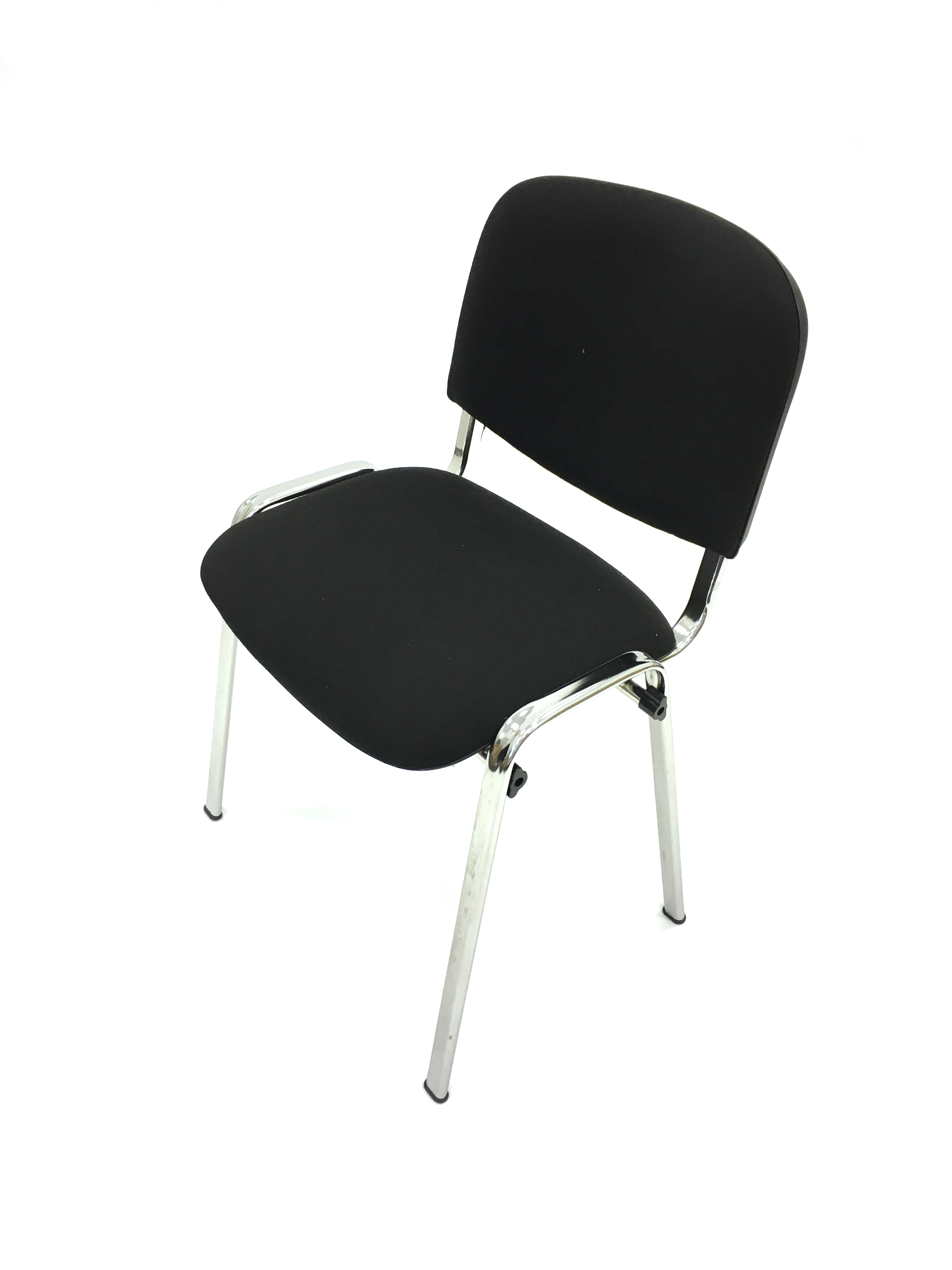 Black Conference Chair Hire - Silver Frame Chairs - BE Event Hire