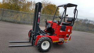 Hire of truck mounted forklift- BE Event Hire