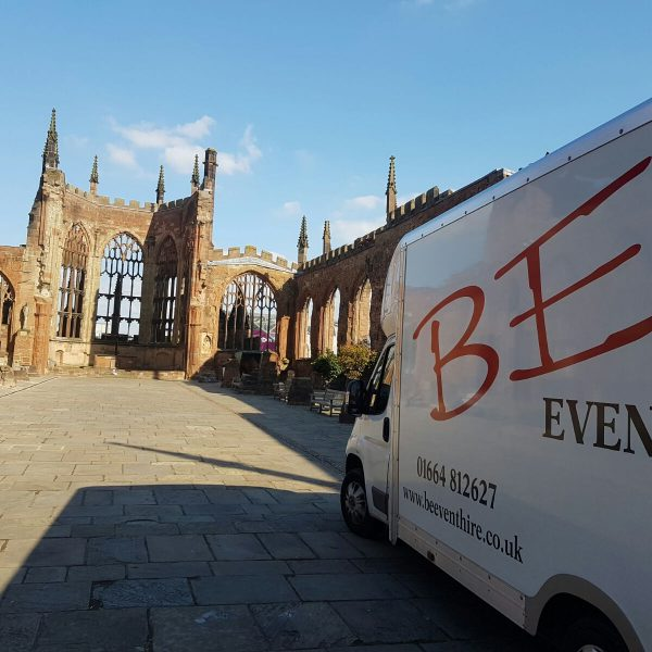 BE Event Hire at Coventry Cathedral