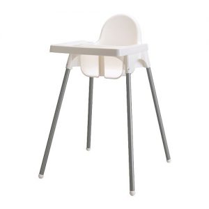 Children's High Chair complete with Tray