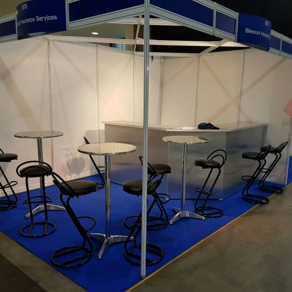 BE Event Hire Trade Stand Furniture